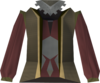 Dervish robe (sepia) detail