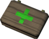 Emergency healing box detail