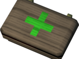 Emergency healing box