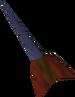 Off-hand mithril dart detail