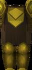 Rune plateskirt (Gilded) detail