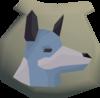 Spirit wolf pouch (Wolf Whistle) detail