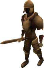 Animated Bronze Armour