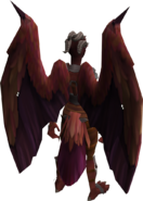 Attuned Nex wings equipped