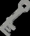 Bone key (Shilo Village) detail