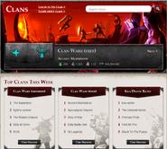 Clan Wars HiScores