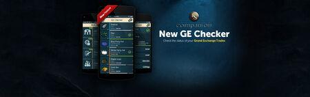 Companion App GE Checker banner