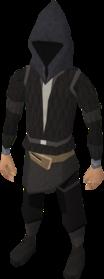 Grim reaper hood equipped