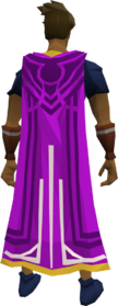 Milestone cape (80) equipped