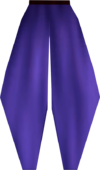 Pirate leggings (purple) detail