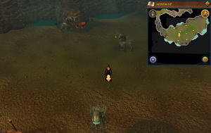 Scan clue Fremennik Slayer Dungeon centre of aquanite chamber