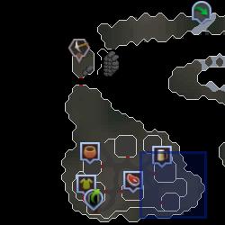 Thora (Miscellania Dungeon) location