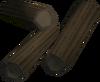 Well-cut strong sticks detail