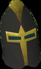 Elite black full helm detail old