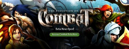 Evolution of Combat - Open Beta Banner