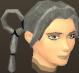 Female hair ring braids