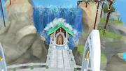 Prifddinas waterfall fishing