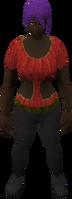 Retro crop-top (female)
