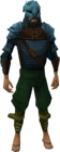 Rune med armour equipped