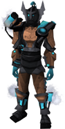 Shadow Sentinel outfit equipped (female)