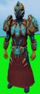 Tectonic armour equipped