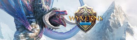 Wyverns head banner