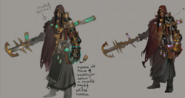 Anima Witch concept art