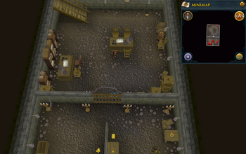 Cryptic clue under the west bank of Varrock