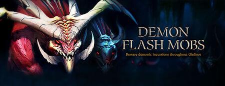 Demon Flash Mobs banner