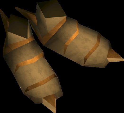 File:Golden warpriest of Saradomin boots detail.png