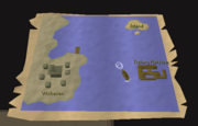 Kent's isle travel map
