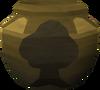 Plain woodcutting urn (nr) detail