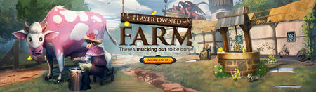 Player Owned Farms head banner