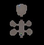 V's Island (interior) map