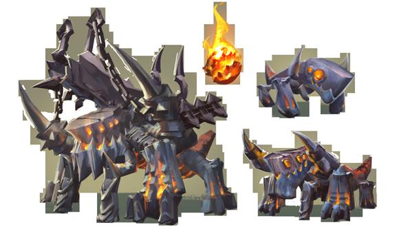 Warborn Behemoth concept art