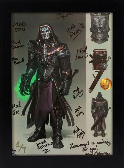 Zemouregal signed concept art news image