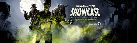 Animation Team Showcase head banner