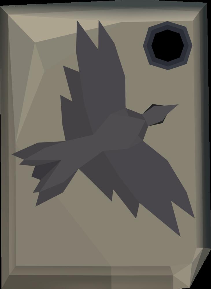 D&D token (phoenix lair) detail