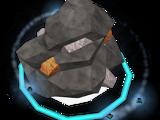 Divine bronze rock