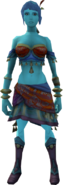 Fayre (Dancer) equipped (female)