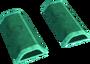Green wedge key detail