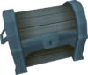 Intricate ice chest detail