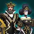 King and Queen of Clubs pack icon
