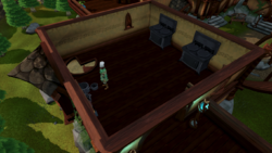 Lletya Food Store interior