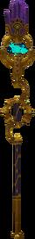 Mystical staff detail