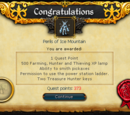 Perils of Ice Mountain/Quick guide