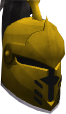Steel heraldic helm (Varrock) chathead