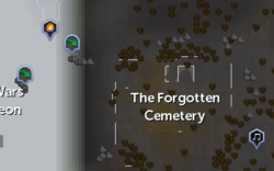 The Forgotten Cemetery map