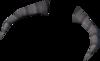 Tuska mask upper tusks detail