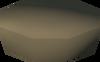 Unfired pot lid detail